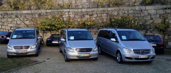 Porto taxi cars